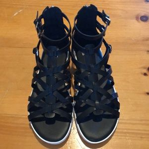 Women's Guess Black Sandals 7.5